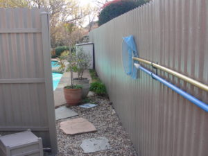 After Residential Pool Privacy