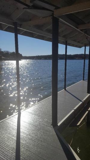 fiberglass composite deck