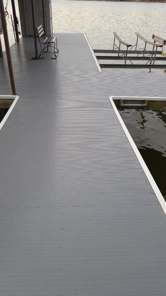 composite fiberglass deck