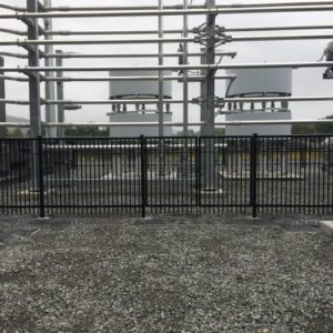 Substation Fiberfence