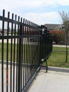 non-conductive fence